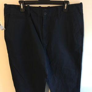 Old Navy Men's pants navy blue 36/34 NWT
